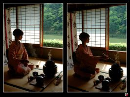 Kyoto Tea Time II by tensai-riot