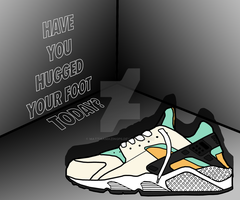 Nike Air Huarache OG Concept Art by MattisamazingPS
