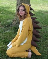 Sandslash Kigurumi by stuffedpanda-cosplay