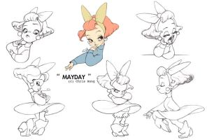 Mayday Model Sheet by kimchii