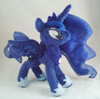 Nightmare Night Contest Princess Luna by dolphinwing