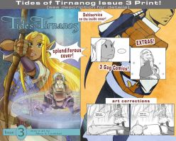 Tides Issue 3 Print by MPsai