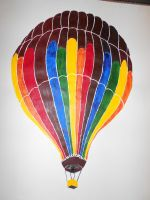 Hot Air Balloon by NinaElizabethJones