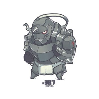 #387 Alphonse Elric from Fullmetal Alchemist by Jrpencil