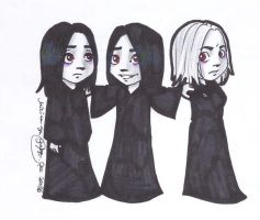 the Volturi by miriamartist