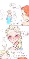 wow Elsa, you looks so drunk by A-KAchen