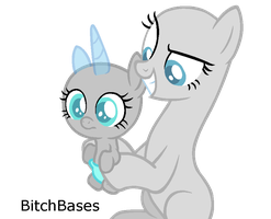 MLP Base: I got the ugliest ShiningDence foal ever by BitchBases