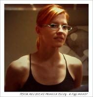 Tricia Helfer as Pamela Isley by kyg