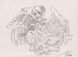 Angel Serenade by Dark-Sakura