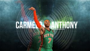 Carmelo Anthony NYC Wallpaper by IshaanMishra