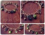Forest Floor Bracelet by GingerKellyStudio