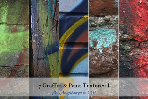 Graffiti Texture Pack 1 by AngelEowyn