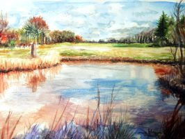 Colorful Nature Watercolor~ by LuxPokedex