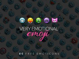 EmoticonsHD Emoji FreePack by LazyCrazy