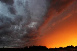 Wild Clouds over Yorkton, Sk. by ryancrouse