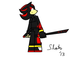 Shadow the Hedgehog by SloththeChaos666