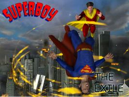 Superboy: The Exile cover by kevmann
