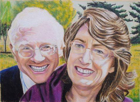 Bob and Lauralee by quiltineb