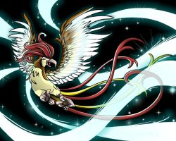 17. Pidgeotto by sobeyondthis