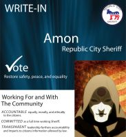 Amon for Sheriff by CaseyJewels