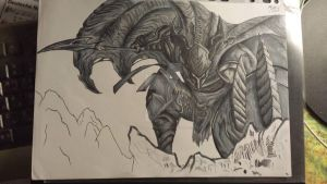 Dragonslayer Pantheon (League of Legends) by DragonDraw4ever