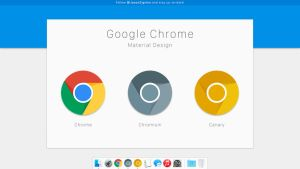 Google Chrome Material Design by JasonZigrino