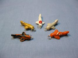Charms: Koi Fish by kitcat4056