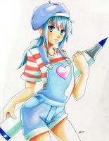 Copic Blue by knighthead