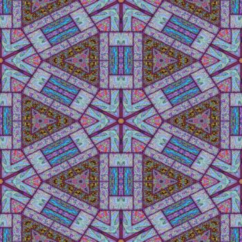 Kaleidoscope with hard edges. by stingerjpgr