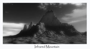 Infrared Mountain by kaiack