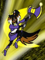 Art Trade with Albo-Beati7-Cairo the Wolf by OnyxLeaderRogue-177