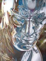 Silver Surfer Colored Up by corysmithart