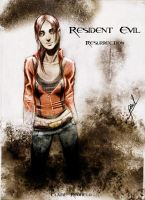 claire redfield by toxiksskulls