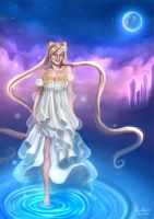 Princess Serenity by MonicaMarinho