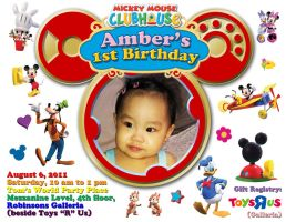 Amber's 1st-Invite by stinglacson