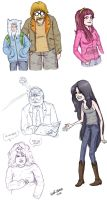 Real People Adventure Time by Kaineiribas