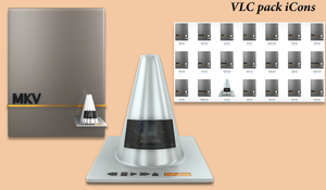VLC iCons Pack by GpByPass