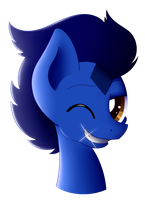 Commission - Deev Factor Wink! by HungrySohma16