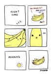 Banana Fight Club by pikarar