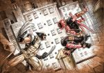 DEADPOOL vs WOLVERINE by Vinz-el-Tabanas