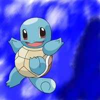 Here's a squirtle by YingYangKurai