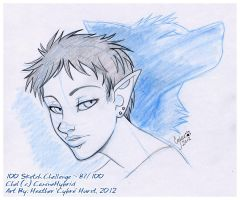 100 Sketch Challenge :: 87 by cybre