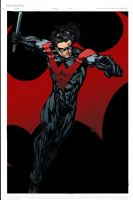Nightwing - Ginmau colors by SpiderGuile