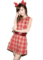 SNSD Jessica Christmas ~PNG~ by JaslynKpopPngs