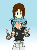 What If: Summer and Black*Star were partners? by NinjaGirlKikio