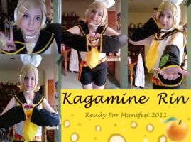 Kagamine Rin Cosplay by BritToons