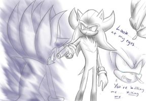 The Kill: Sonic and Shadow- part 2 by winded-wolf