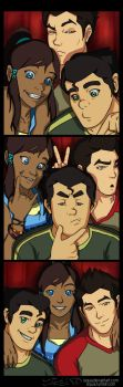 The Legend of Korra AU - Photobooth by siquia