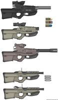 T40 grenade launcher variant by ZiWeS