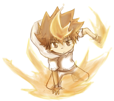 Tsuna by Katantoon